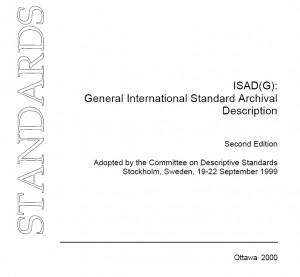 Primjena ISAD(G) standarda prilikom izrade inventara