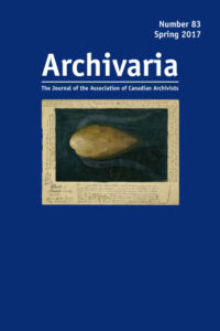 Archivaria 83