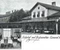 Moravice, Banhof und Restauration Cameral, 19...?