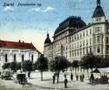 Zagreb, Preradovićev trg, 1919.